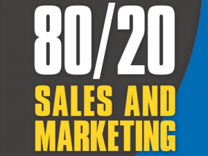 80/20 Sales and Marketing Book Cover close-up