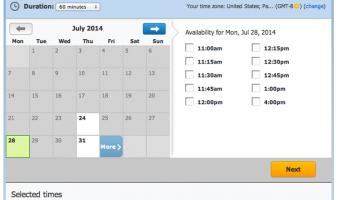 online scheduling tools