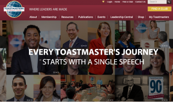 Toastmasters International Home Page