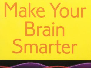 Make Your Brain Smarter book cover close-up